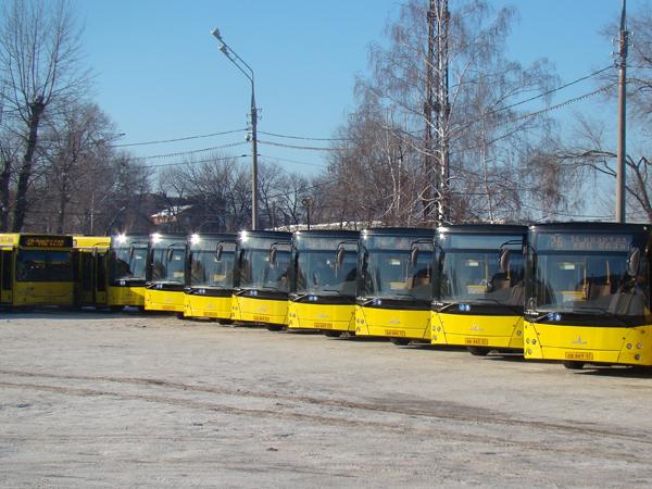 передачи автобусов все